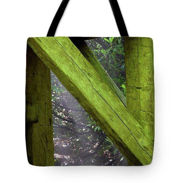 Braced With Moss Tote Bag