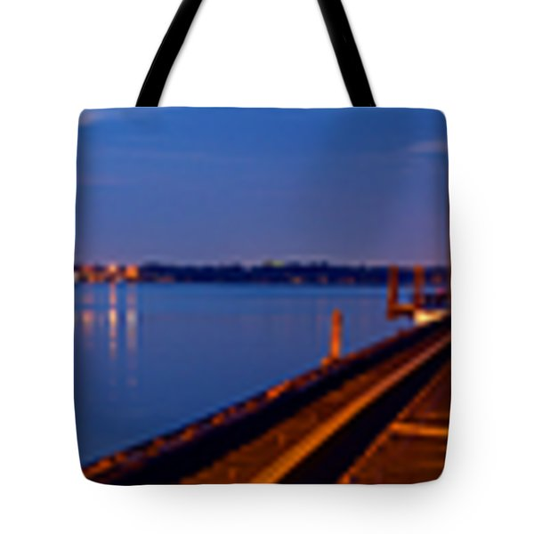 Bradenton Railway Bridge Tote Bag