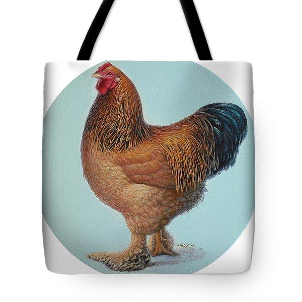 Brahma Rooster Tote Bag