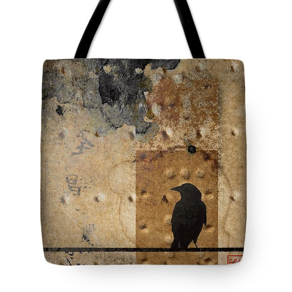 Braille Crow Tote Bag