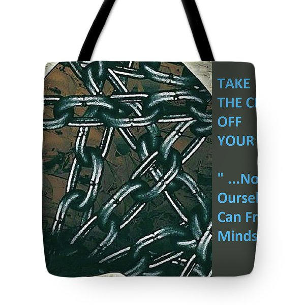 Brain Chains Tote Bag