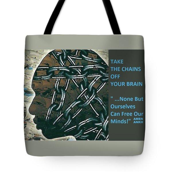 Brain Chains Tote Bag
