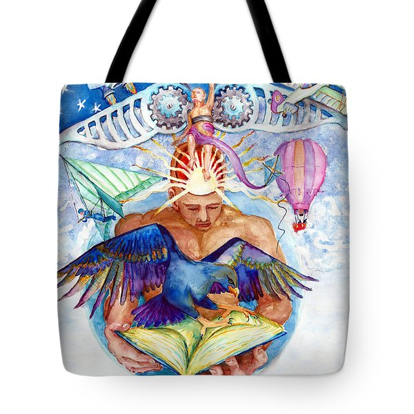 Brain Child Tote Bag by Melinda Dare Benfield