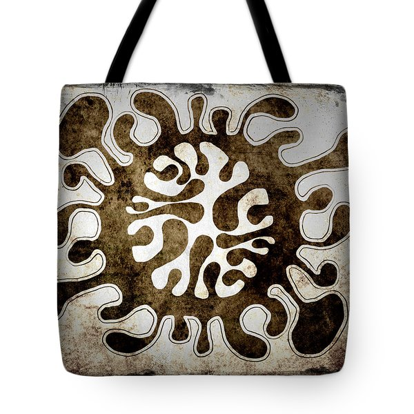 Tote Bag featuring the drawing Brain Illustration by Lenny Carter