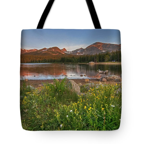 Brainard Lake Tote Bag by Gary Lengyel