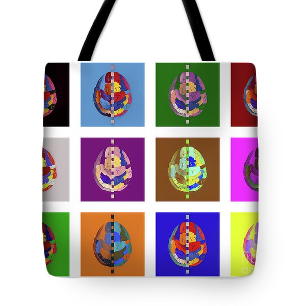 Tote Bag featuring the photograph Brainbow by Hans Janssen