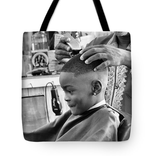 Brian's Haircut Tote Bag