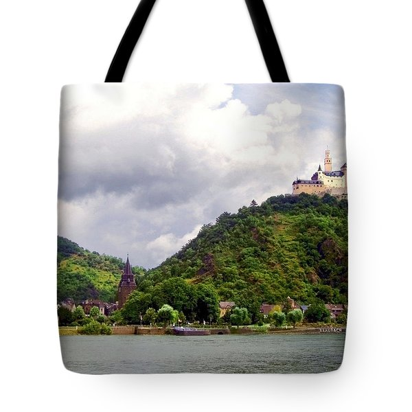 Tote Bag featuring the photograph Brambach Germany by Joan  Minchak