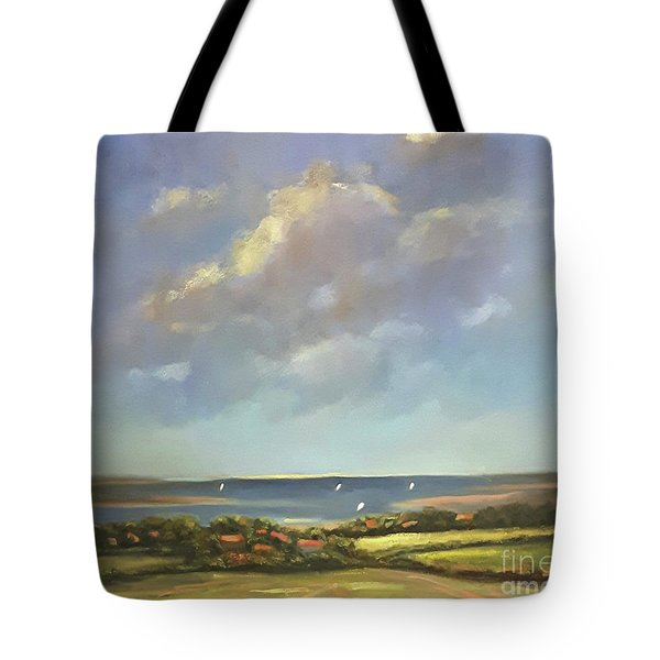 Brancaster Staithes, Norfolk Tote Bag by Genevieve Brown