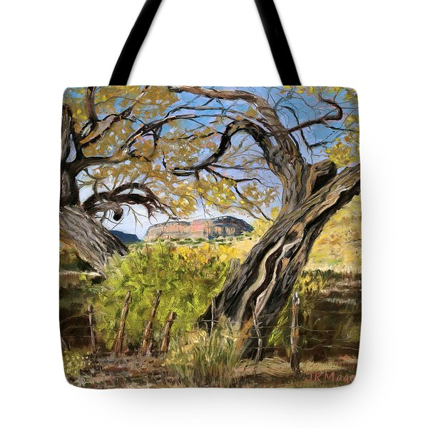 Branch Embrace Tote Bag by Julie Maas
