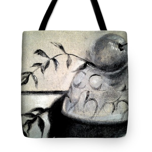 Branch Shadow Tote Bag