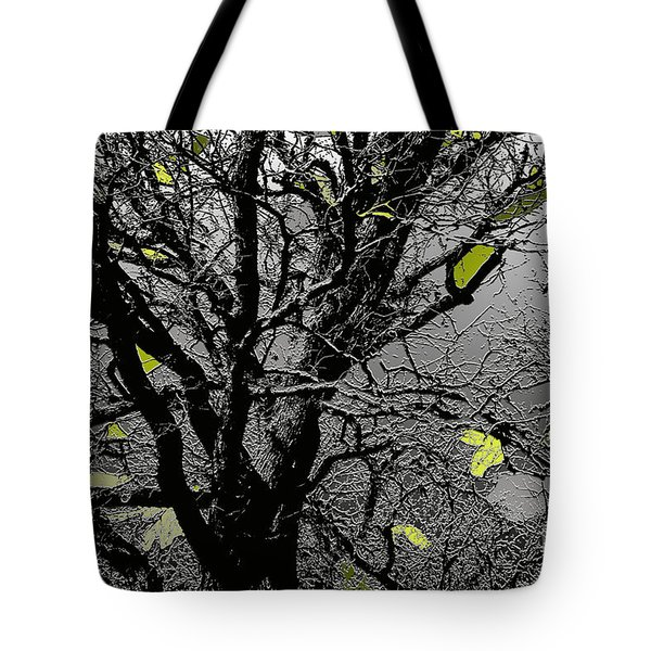 Branches In Green II Tote Bag