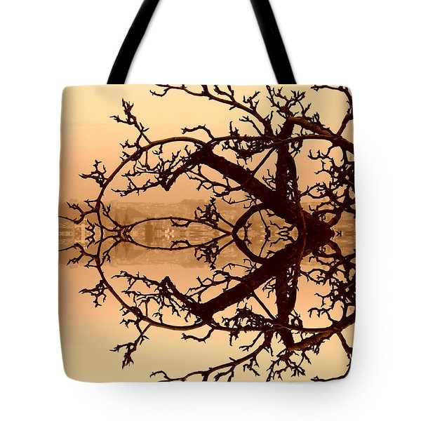 Branches In Suspension Tote Bag
