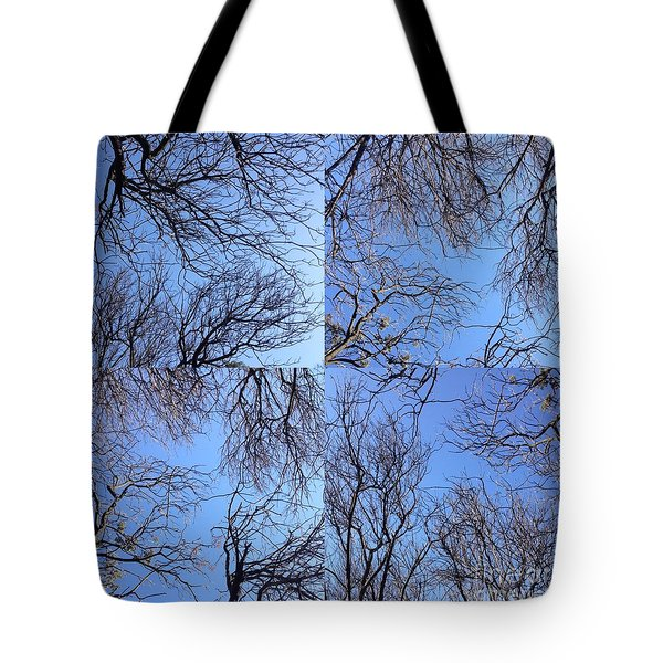 Branches Tote Bag by Nora Boghossian