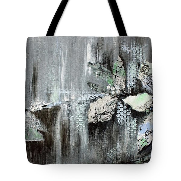 Tote Bag featuring the painting Branches Of Fun by Joanne Smoley