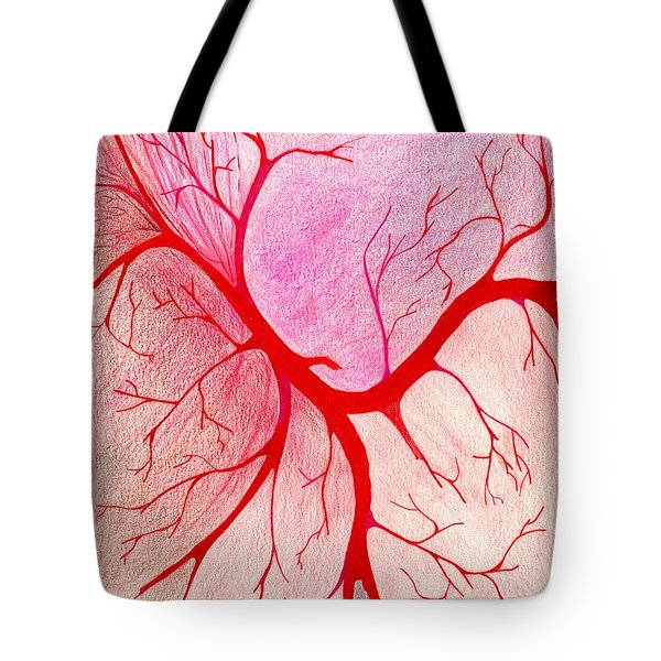 Branches Of Red Tote Bag