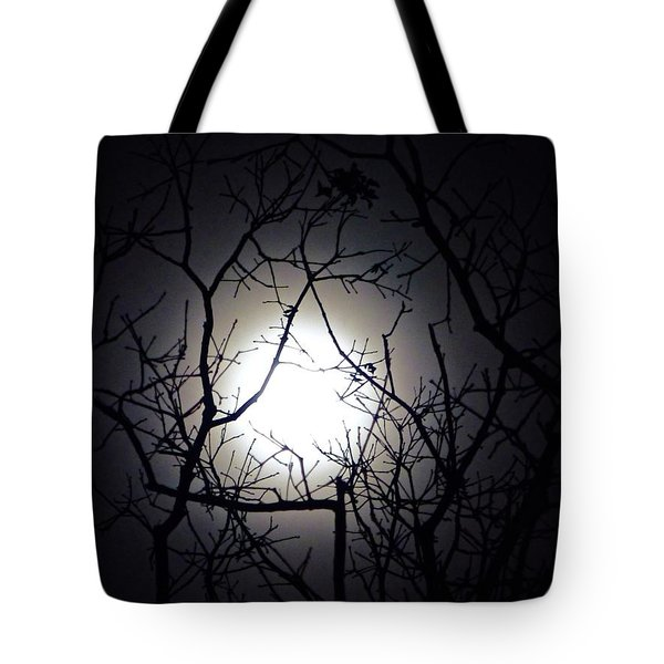 Branches To The Moon Tote Bag