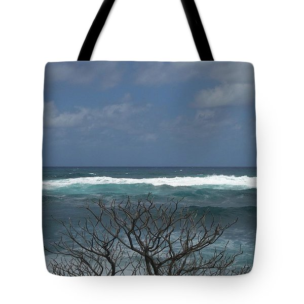 Branches Waves And Sky Tote Bag