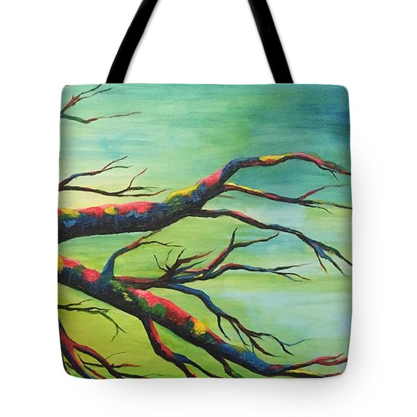 Branching Out In Color Tote Bag