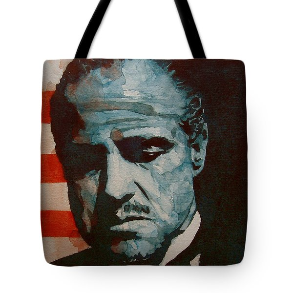 The Godfather-brando Tote Bag