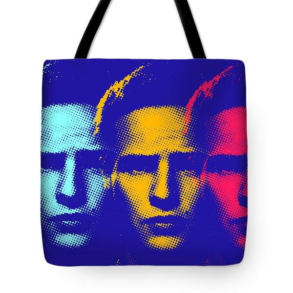Brando Triple  Tote Bag by Surj LA