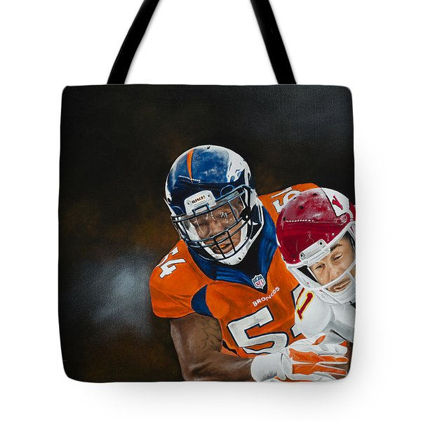 Brandon Marshall Tote Bag