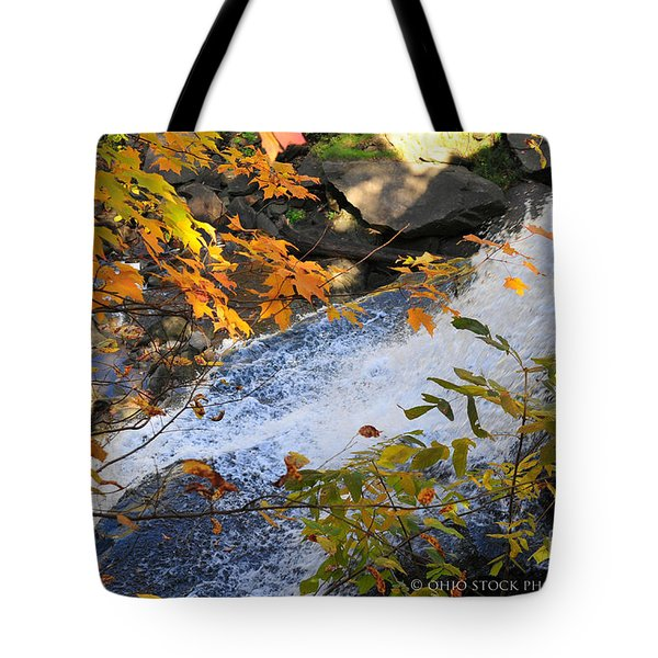 D30a-18 Brandywine Falls Photo Tote Bag