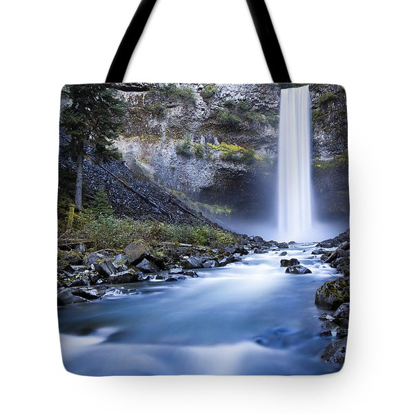 Tote Bag featuring the photograph Brandywine Falls by Windy Corduroy