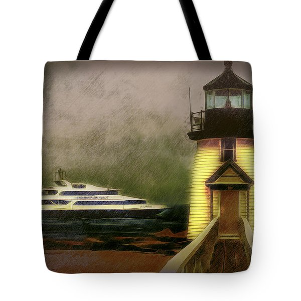 Brant Light II Tote Bag by Jack Torcello