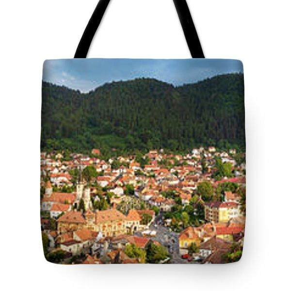 Tote Bag featuring the photograph Brasov by Fabrizio Troiani