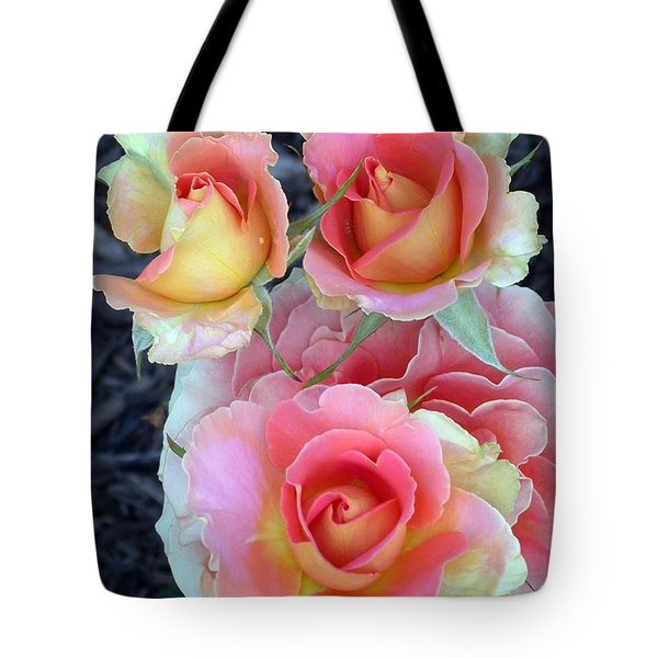 Brass Band Roses Tote Bag by Living Color Photography Lorraine Lynch