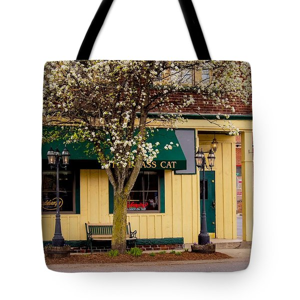 Brass Cat Pub Easthampton Tote Bag