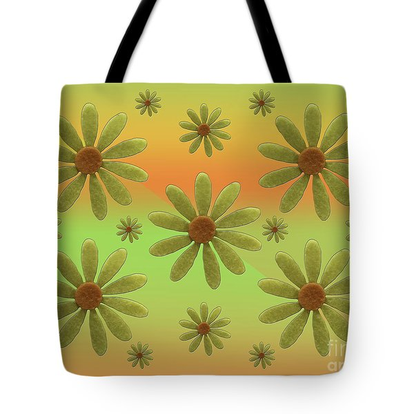 Brass Corollas Tote Bag