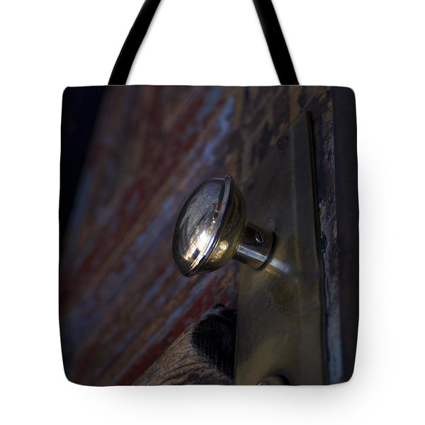 Brass Door Knob I Tote Bag