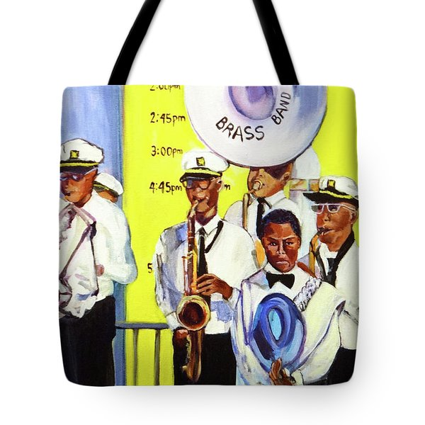 Brass Of  Class New Orleans Tote Bag