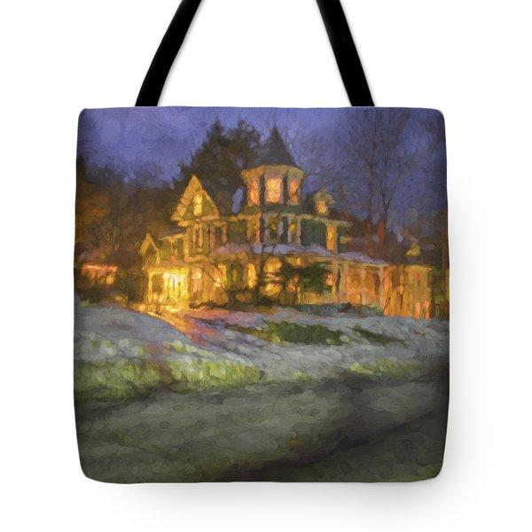 Brattleboro Victorian II Tote Bag by Tom Singleton
