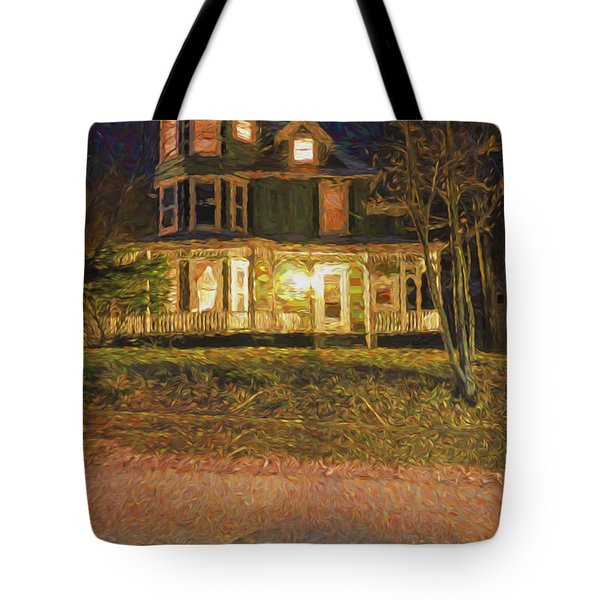 Brattleboro Victorian Tote Bag by Tom Singleton