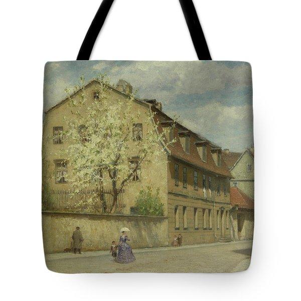Braune Weimar Tote Bag by Christoph Martin Weiland