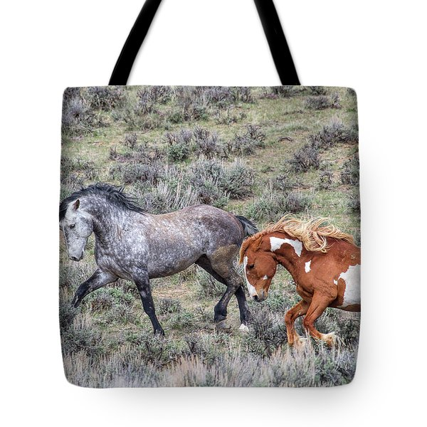 Bravado Tote Bag by Jim Garrison