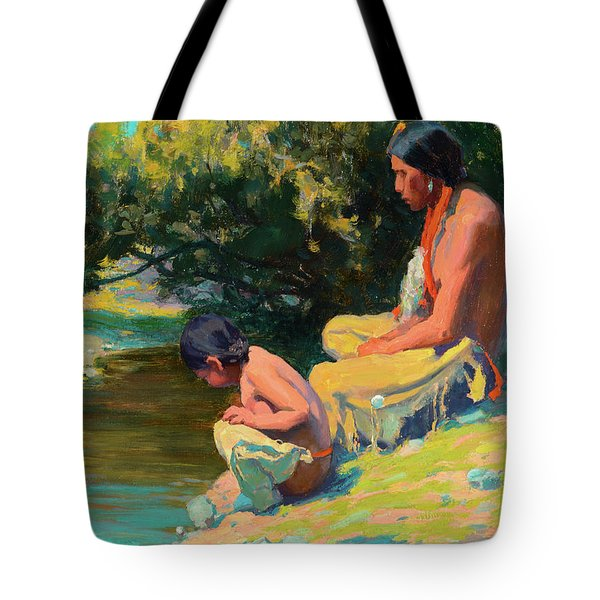 Brave And Son Tote Bag