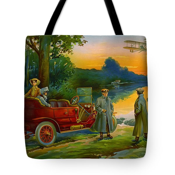 Brave New World 1910 Tote Bag by Padre Art