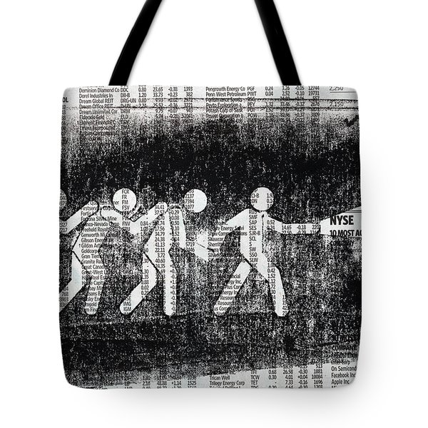 Brave Stock Broker Tote Bag