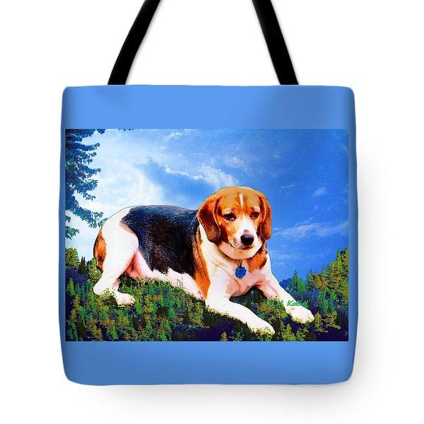 Bravo The Beagle Tote Bag