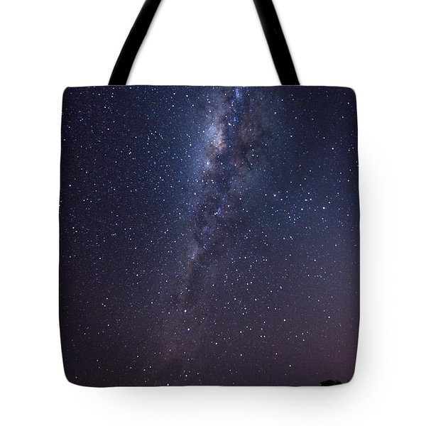 Tote Bag featuring the photograph Brazil By Starlight by Alex Lapidus