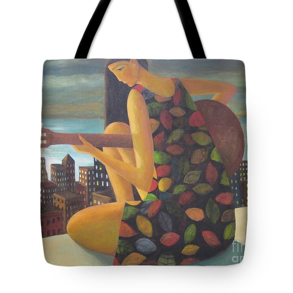 Tote Bag featuring the painting Brazil by Glenn Quist