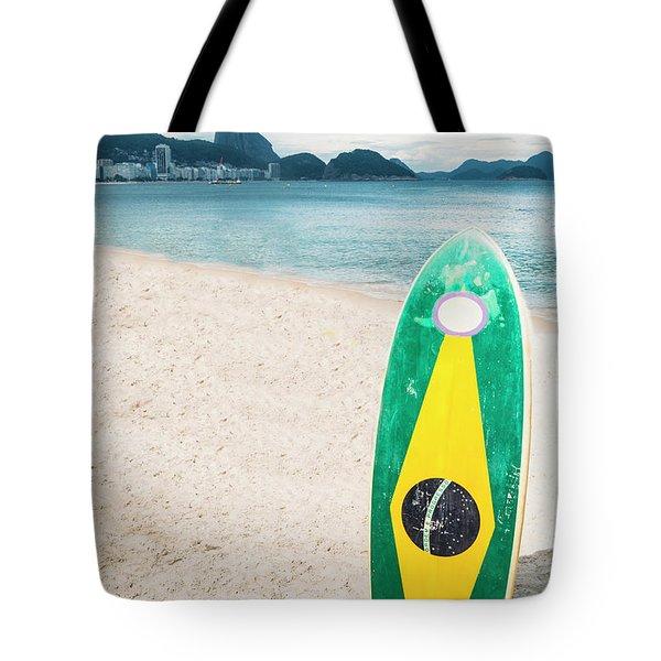 Brazilian Standup Paddle Tote Bag