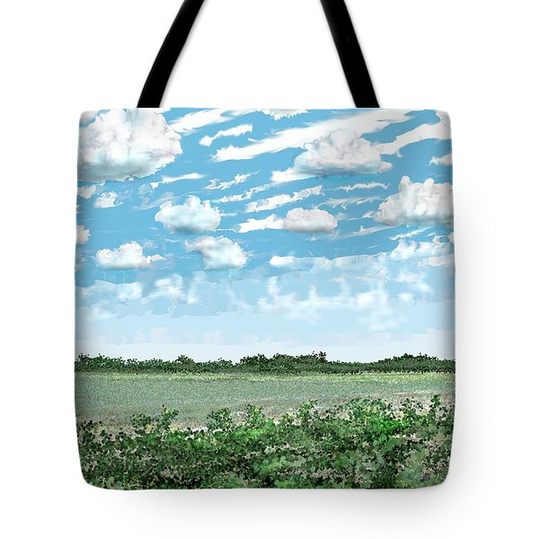 Brazoria County Field Tote Bag by Kerry Beverly