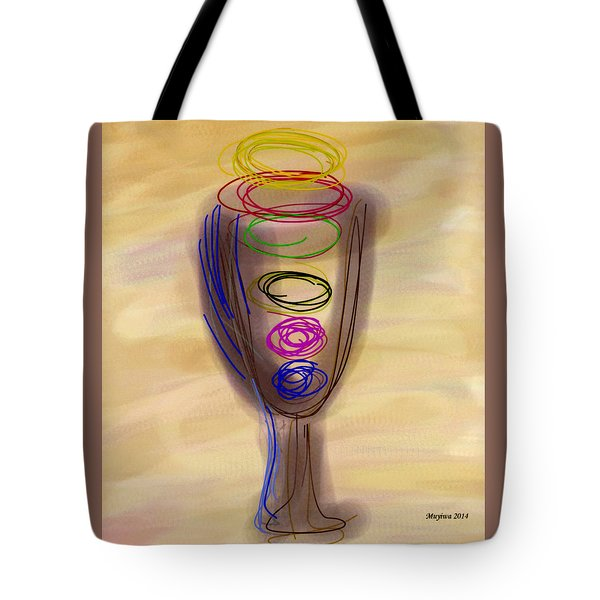 Bread And Wine Tote Bag
