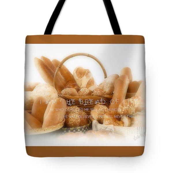 Bread Arrangement #2 - With Scripture Tote Bag