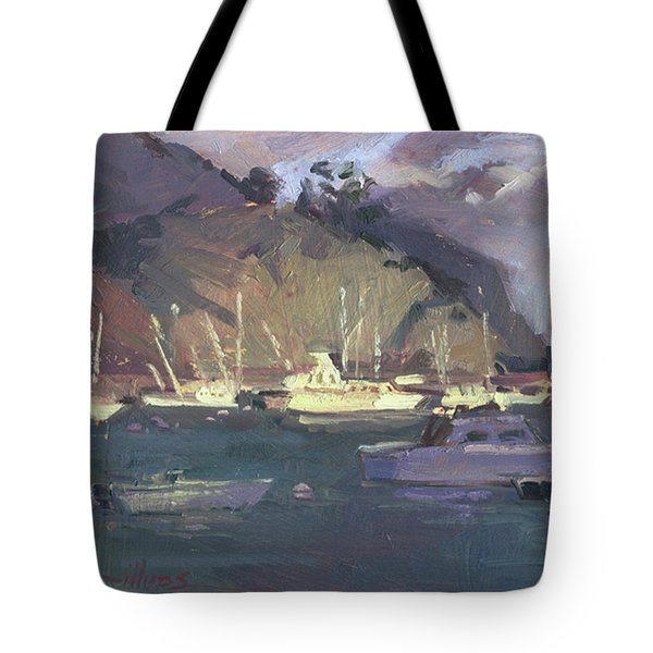 Break Of Dawn-avalon Tote Bag